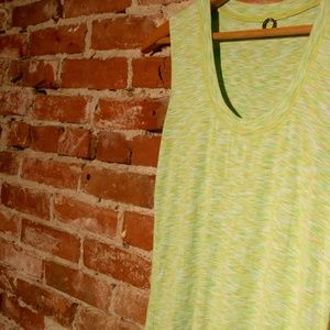 Anthropologie One Girl Who Scoop Neck Tank Top